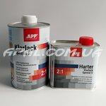 APP 2K HS Klarlack Spezial S Лак безбарвний акриловий спеціальний (1.0л) + затв. (0.5л)