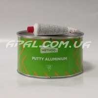 METHOD PUTTY ALUMINIUM шпатлівка поліефірна з алюмінієвим пігментом 1л. 1.8 кг