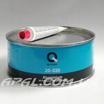 Q-Refinish 20-020 Поліефірна шпатлівка ALUMINIUM посилена частинками алюмінію (1 кг)