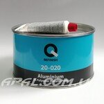 Q-Refinish 20-020 Поліефірна шпатлівка ALUMINIUM посилена частинками алюмінію (1,8 кг)