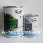 baslac 20-24 2K Primerfiller 4:1 Грунт сірий (4л) + затв. 50-20 2K Hardener Normal (1л)