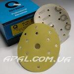 Q-Refinish Абразивный круг P600 Premium Gold Velcro, (150 мм, 15 отверстий)