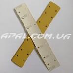 Q-Refinish 30-130 Абразивная полоса PREMIUM GOLD, Р150, 70х420мм, 14 отв.