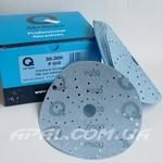 Q-Refinish Шлифовальный круг P600 Premium Blue Disc Velcro (150 мм, 75 отверстий)