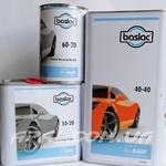 baslac Комплект: 40-40 Лак прозорий універсальний HS/MS 2:1 (5 л), затверджувач 50-20 (2,5 л), розчинник 60-20 (1л)