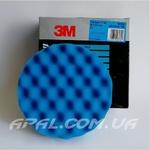 3M 50388 Синій рельєфний полірувальний круг для пасти 3М Ultrafina, d 150 мм