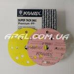 KOVAX #180 Абразивний диск PREMIUM ST, 152мм, 15 отв.(50 шт.)