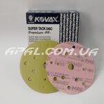 KOVAX #400 Абразивний диск PREMIUM ST, 152мм, 15 отв. (50 шт.)