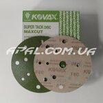KOVAX #80 Абразивний диск SUPER TACK MAXCUT ST, 152мм, 15 отв.