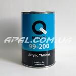 Q-Refinish 99-200 Acrylic Thinner Розчинник акриловий normal