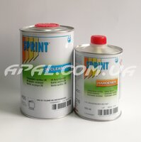Sprint H55 GT CLEARCOAT ANTISCRATCH HS+ Лак акриловий, надстійкий до подряпин (1л) + затв. (0,5л)